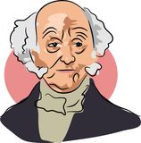Martin Van Buren Royalty Free Stock Photo