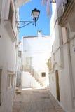 Martina Franca Alley - Puglia, Itália Fotografia de Stock Royalty Free