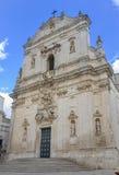 Martina Franca-kathedraal Stock Afbeelding