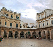 Martina Franca Piazza Royalty Free Stock Photos