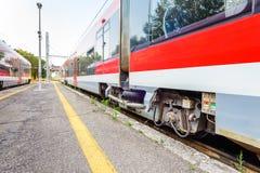 Martina Franca railway station, Italy stock photos