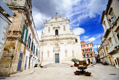 Martina Franca Square Stock Photos
