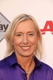 Martina Navratilova Stock Photography