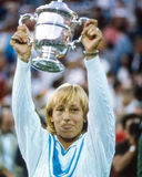 Martina Navratilova Royalty Free Stock Image