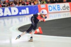 Martina Sablikova - åka skridskor för hastighet Royaltyfri Fotografi