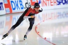 Martina Sablikova - étoile de patinage de vitesse Images libres de droits