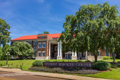 Martindalestudent Service Center in Ole Miss Royalty-vrije Stock Afbeeldingen