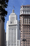 Martinelli Building and Altino Arantes Building (Banespa Buildin Royalty Free Stock Images