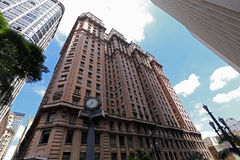 Martinelli building in Sao Paulo, Brazil Royalty Free Stock Image