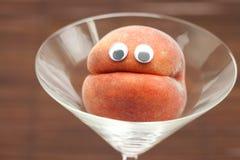 martini γυαλιού ματιών ροδάκιν&omicro Στοκ φωτογραφίες με δικαίωμα ελεύθερης χρήσης