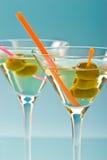 martini δύο Στοκ Φωτογραφία