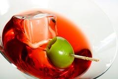 martini ελιά Στοκ εικόνα με δικαίωμα ελεύθερης χρήσης