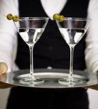 martini ζευγάρι Στοκ Εικόνες