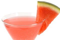 martini κοκτέιλ καρπούζι Στοκ Φωτογραφία
