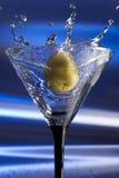 martini παφλασμός Στοκ Φωτογραφίες