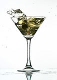 martini παφλασμός Στοκ Εικόνα