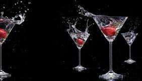 Martini ποτά Στοκ εικόνες με δικαίωμα ελεύθερης χρήσης