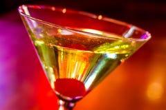Martini στο τοπικό μπαρ Στοκ φωτογραφία με δικαίωμα ελεύθερης χρήσης