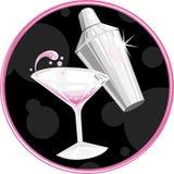 martini σύμβολο Στοκ Εικόνα