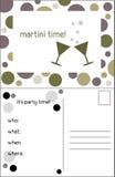 martini χρόνος Στοκ Εικόνες