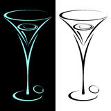 Martini. Royalty Free Stock Photo