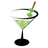 martini ilustração do vetor
