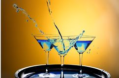 martini Fotografia de Stock