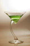 Martini Appletini 06. A refreshing AND unique martini style cocktail Royalty Free Stock Images