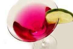 Martini auf Weiß Lizenzfreie Stockfotos