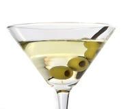 Martini avec des olives Photo libre de droits