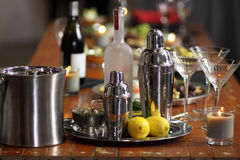 Martini bar Stock Photography