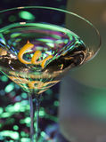 Martini and bottle Stock Photo