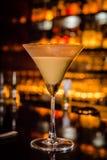 Martini cappuccino royaltyfria foton