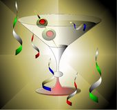 Martini Celebration Royalty Free Stock Photo