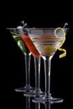 Martini classique - la plupart des série populaire de cocktails image stock
