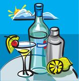 Martini cocktail Stock Images