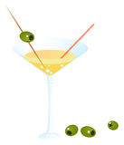 Martini, Cocktail Lizenzfreies Stockbild