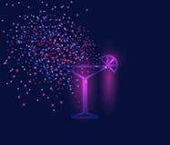Martini, cocktail Ilustração do Vetor