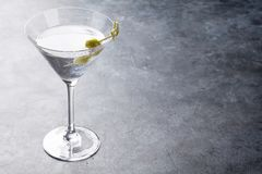 Martini cocktail royalty free stock images