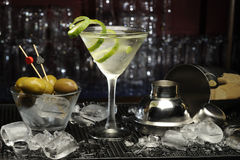 Martini cocktail Stock Photos