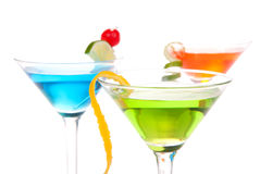 Martini cocktails Royalty Free Stock Image
