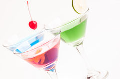 Martini Cocktails Royalty Free Stock Photos