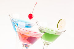 Martini Cocktails close up Stock Photo