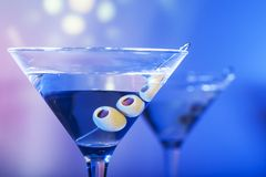 Martini Coctail Royalty Free Stock Photos
