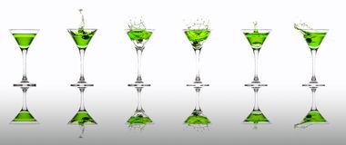 Martini collection Royalty Free Stock Photography