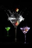 Martini colors Royalty Free Stock Image