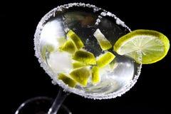 Martini con la cal Fotografía de archivo libre de regalías