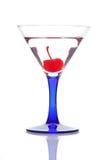 Martini con la cereza Fotos de archivo libres de regalías