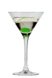 Martini con una cereza Foto de archivo