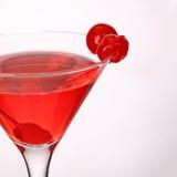 Martini cosmopolita Coctail fresco aislado en blanco Foto de archivo libre de regalías